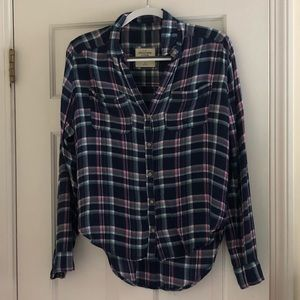 Abercrombie and Fitch flannel, Size M
